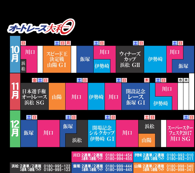 開催カレンダー